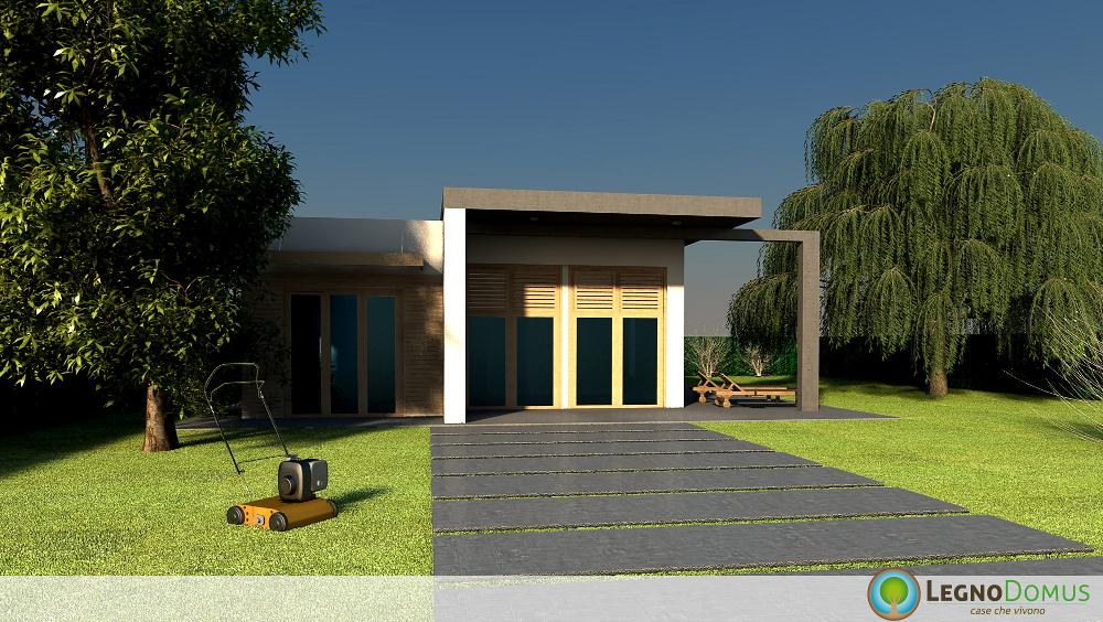 Arnica 113 mq legno domus for Www ottenere un piano casa com